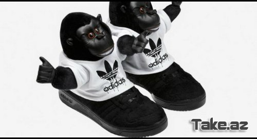 Adidas Jeremy Scott 2012 kolleksiyası [Photo's]