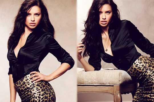 ღ Fashion From Adriana Lima ღ