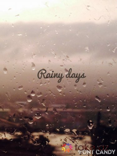 ☔ RainY DayS.....