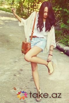 fashion girl style summer